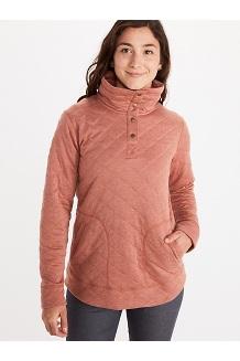 Women's Roice Long-Sleeve Pullover, Picante Heather, medium