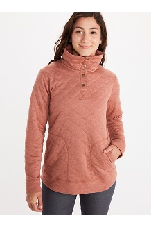 Women's Roice Long-Sleeve Pullover, Turtledove Heather, medium