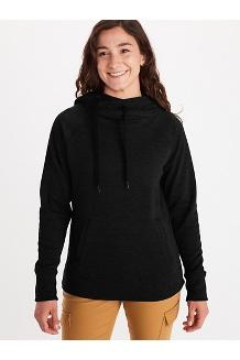 Women's Rowan Hoody, Black, medium