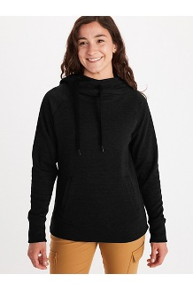 Women's Rowan Hoody, Black, medium