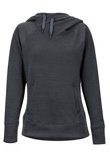 Women's Rowan Hoody, Dark Steel Heather, medium