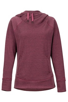 Women's Rowan Hoody, Dry Rose Heather, medium
