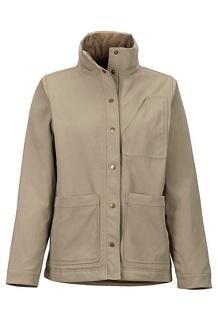 Women's Pioneer Jacket, Desert Khaki, medium