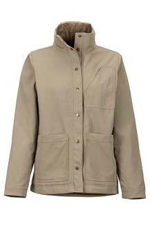 Women's Pioneer Jacket, Desert Khaki, medium