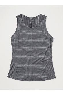 Women's Ellie Tank Top, Black, medium