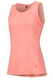 Women's Ellie Tank Top, Flamingo, medium