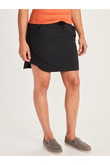 Women's Ruby Skort, Black, medium