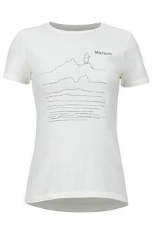 Women's Caligata Short-Sleeve T-Shirt, New Turtledove Heather, medium
