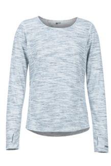 Women's Taylor Canyon LS Shirt, White, medium
