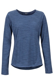 Women's Taylor Canyon Long-Sleeve Shirt, Storm, medium