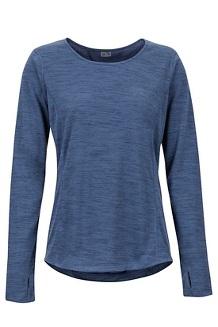 Women's Taylor Canyon Long-Sleeve Shirt, Storm, medium