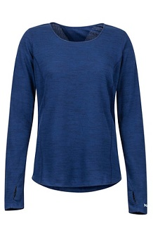 Women's Taylor Canyon LS Shirt, Arctic Navy, medium