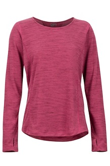 Women's Taylor Canyon Long-Sleeve Shirt, Dry Rose, medium