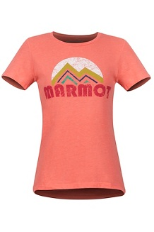 Women's Pt Reyes SS Tee, Flamingo Heather, medium