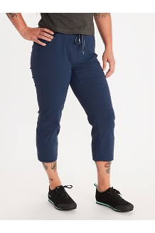 Women's Ravenna Capris, Dark Indigo, medium