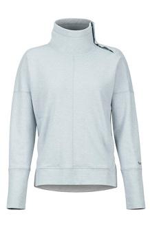 Women's Baillie Pullover, Grey Storm, medium