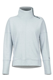 Women's Baillie Pullover, Grey Storm, medium