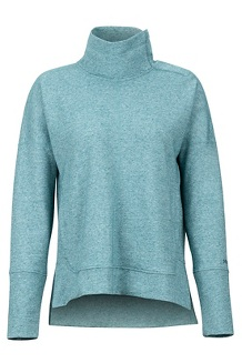 Women's Baillie Pullover, Deep Teal, medium