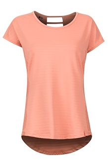 Women's Kitsilano SS Shirt, Coral Pink, medium