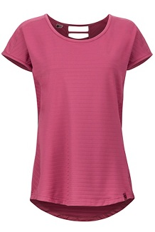 Women's Kitsilano Short-Sleeve Shirt, Dry Rose, medium
