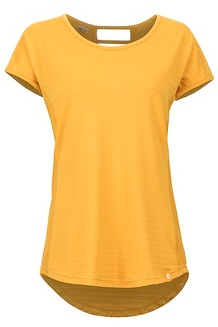 Women's Kitsilano Short-Sleeve Shirt, Yellow Gold, medium