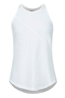Women's Romona Tank Top, White, medium