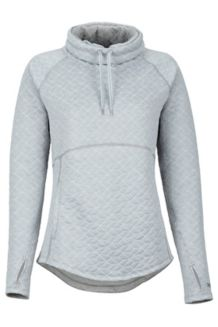 Women's Annie LS Pullover, Bright Steel, medium