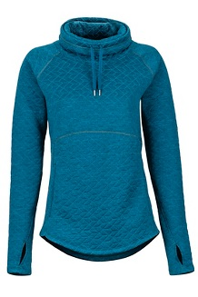 Women's Annie LS Pullover, Late Night, medium