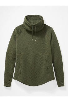 Women's Annie Long-Sleeve Pullover, Crocodile, medium