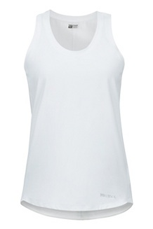 Women's Elana Tank Top, White, medium