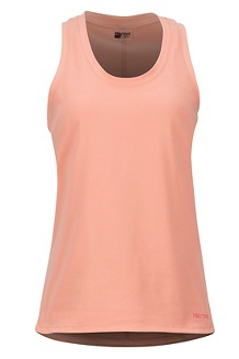 Women's Elana Tank Top, Coral Pink, medium