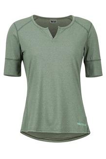 Women's Cynthia SS Shirt, Crocodile, medium