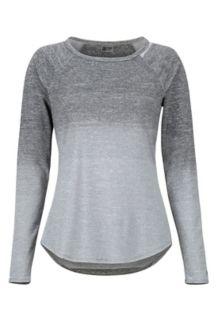 Women's Cabrillo LS Shirt, White, medium