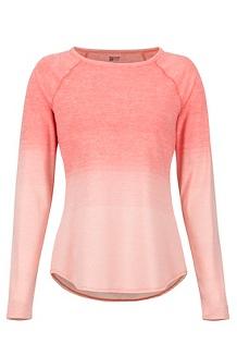 Women's Cabrillo LS Shirt, Flamingo, medium