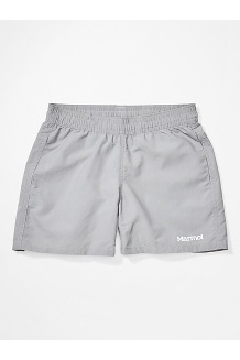 Girls' Augusta Maria Shorts, Sleet, medium