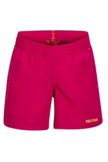Girl's Augusta Maria Short, Sangria, medium