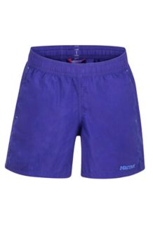 Girls' Augusta Maria Shorts, Electric Purple, medium