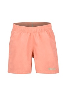 Girls' Augusta Maria Shorts, Coral Pink, medium