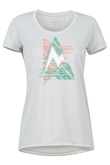 Women's Post Time Tee, Bright Steel, medium