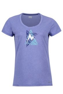Wm's Post Time Tee, Lilac, medium