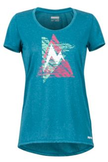 Women's Post Time Tee, Late Night, medium