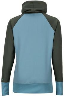 Women's Marley LS Shirt, Honeydew/Crocodile, medium