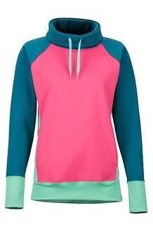 Women's Marley LS Shirt, Disco Pink/Late Night, medium
