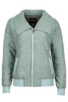 Wm's Elsee Jacket, Beetle Green Heather/Sea Fog, medium
