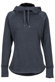Wm's Tashi Hoody, Dark Charcoal Heather, medium