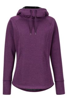 Wm's Tashi Hoody, Dark Purple, medium