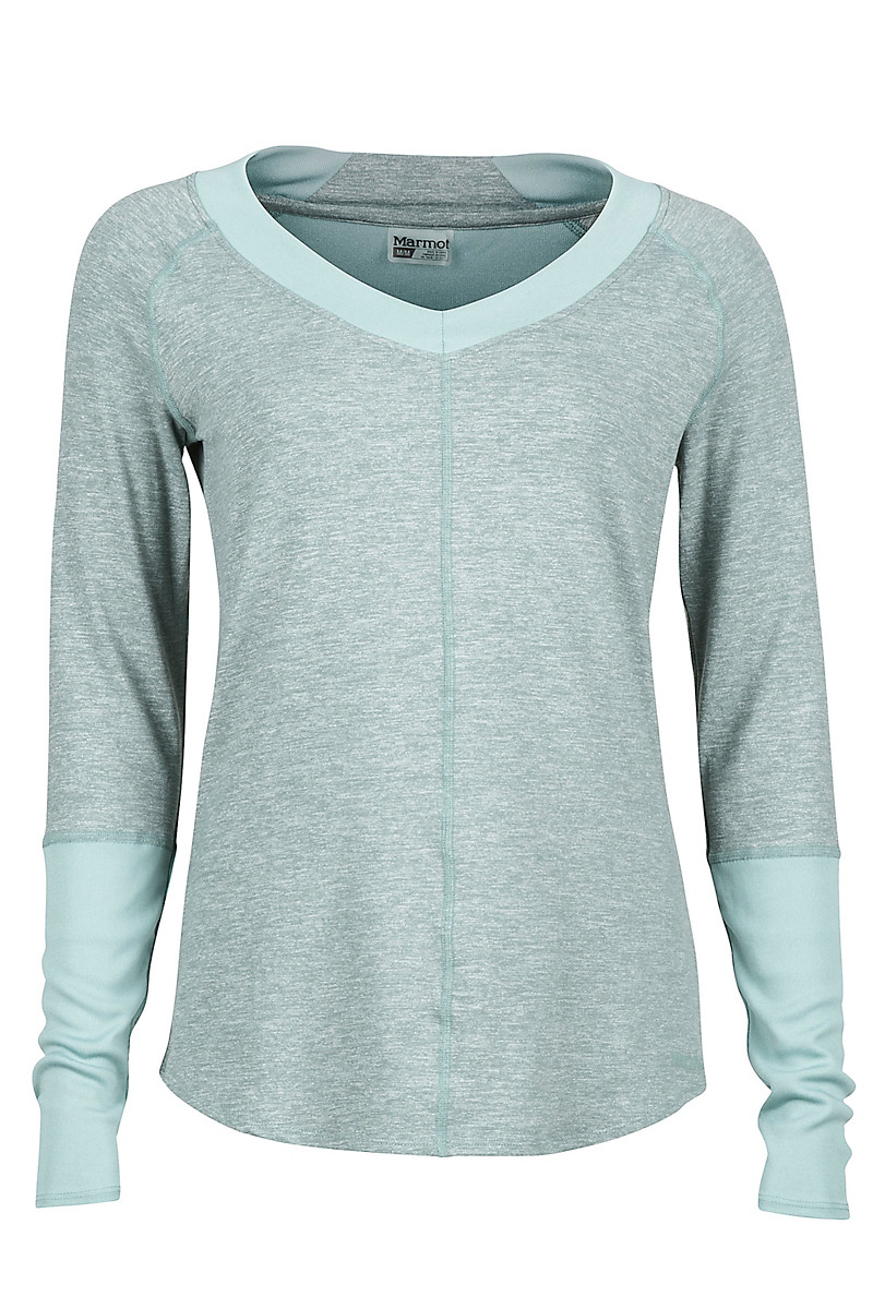 Wm's Jayla LS, Sea Fog Heather, large