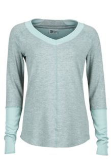 Wm's Jayla LS, Sea Fog Heather, medium
