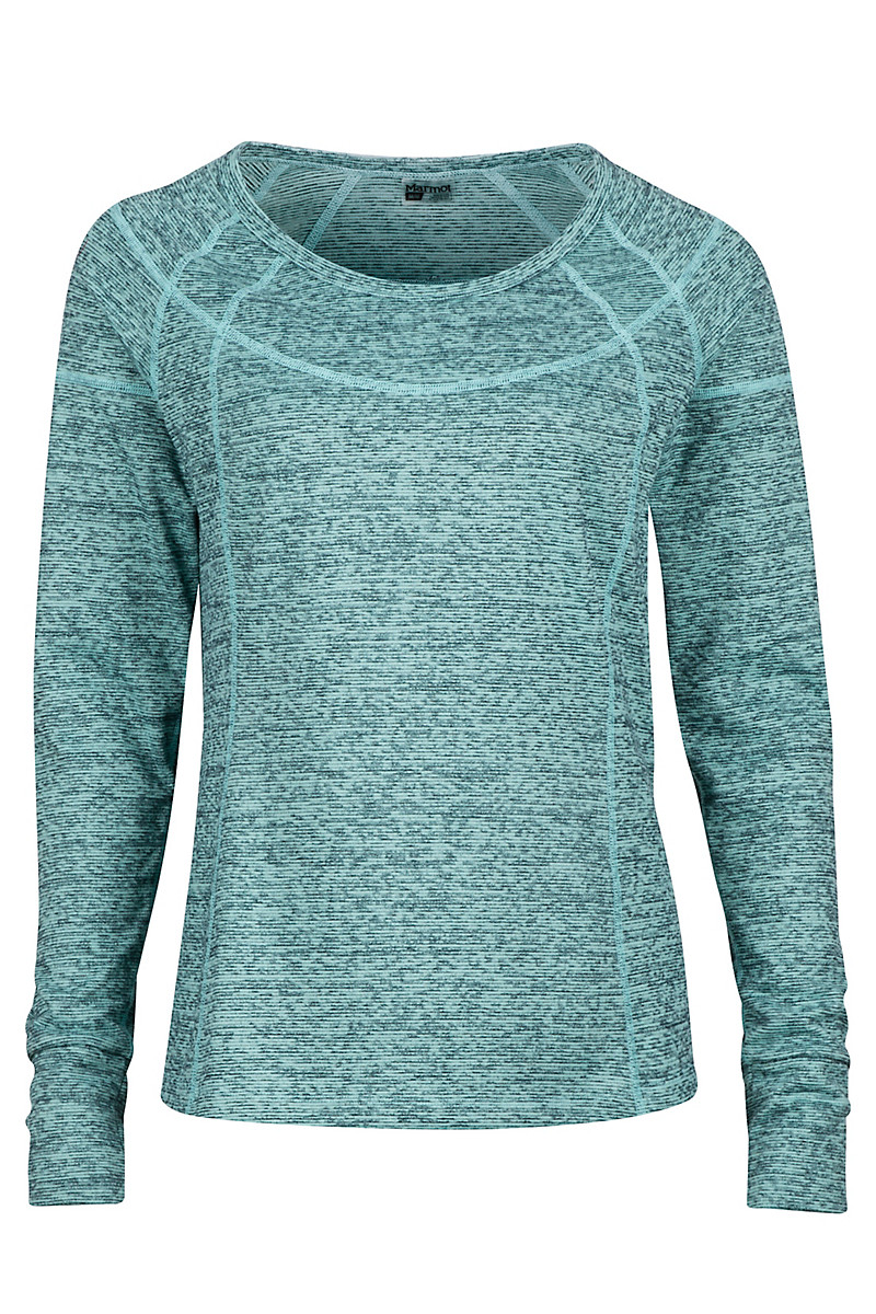 Wm's Eliza LS, Tide Pool Heather, large