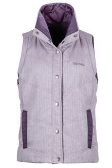 Wm's Peyton Reversible Vest, Mt Shadow/Nightshade, medium